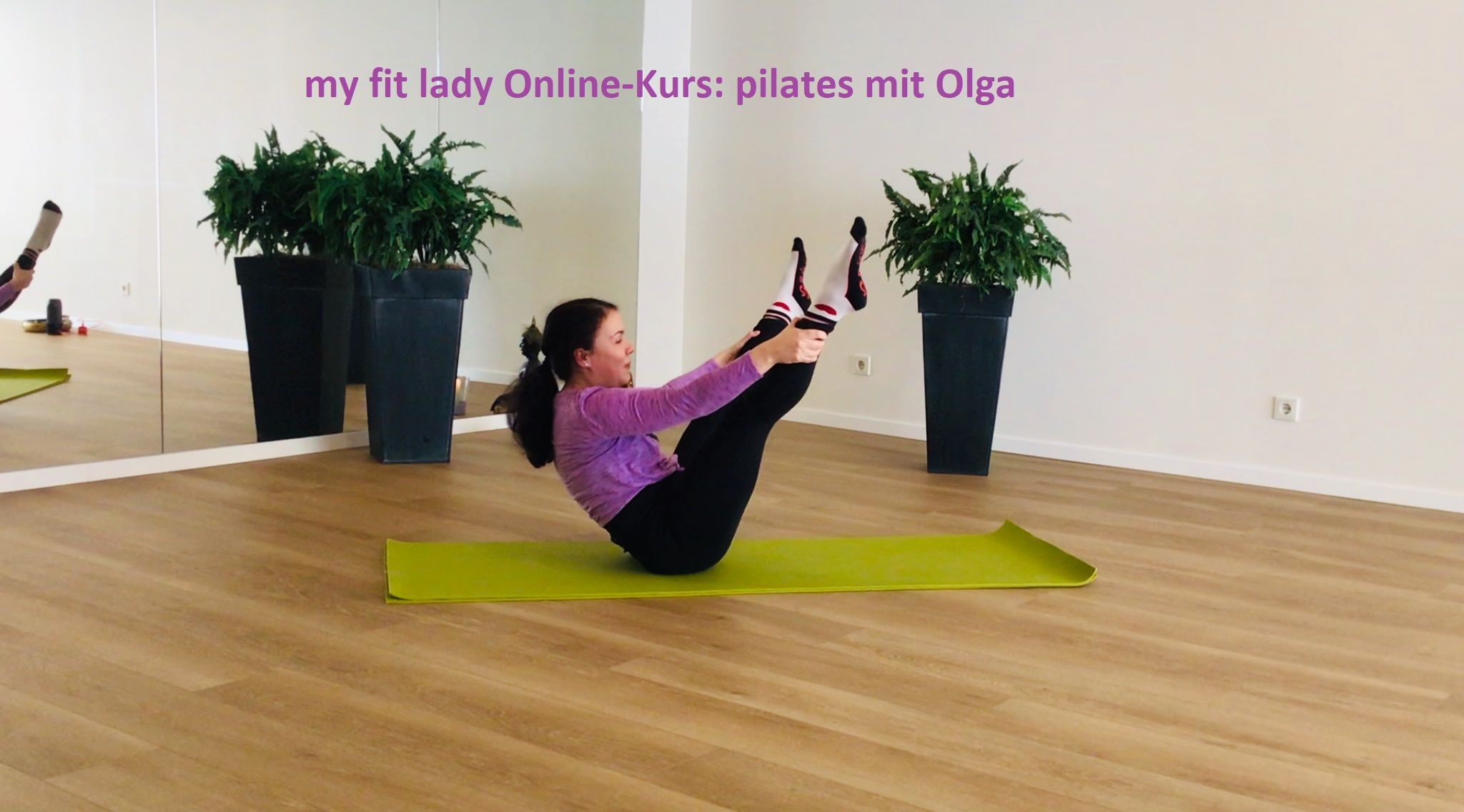 my fit lady, pilates mit Olga